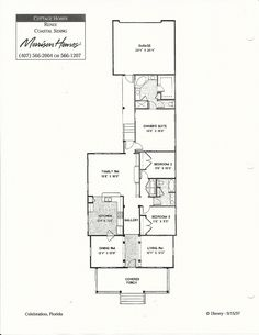 Renee Coastal Siding Floor Plans in Celebration FL Celebration Florida, Morrison Homes, Kitchen Gallery, Cottage Homes, Model Homes, Coastal, Floor Plans, Flooring, How To Plan