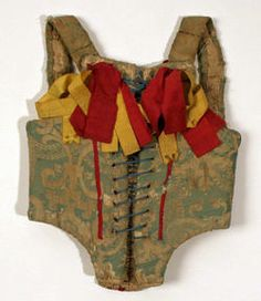 Object Name  Corset  Date  ca. 1700