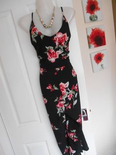 b66089a168 BNWT AX PARIS SIZE 14 STUNNING BLACK RED FLORAL JUMPSUIT FAST POSTAGE   fashion  clothing  shoes  accessories  womensclothing  jumpsuitsrompers  (ebay link)