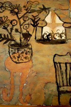 Marc Chagall - still life Marc Chagall, Art Texture, Art Et Illustration, Jewish Art, Still Life Art, Art Moderne, Art For Art Sake, Manet, Henri Matisse