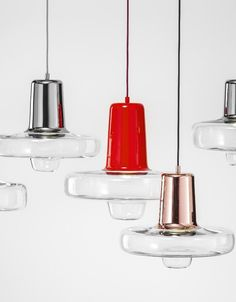 LED stained #glass pendant #lamp SPIN LIGHT by Lasvit | #design Lucie Koldova @lasvit