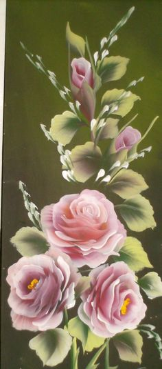 Donna Dewbery came on the scene with a concept that everyone could learn to paint Roses. She developed a technique that she was persuaded everyone could learn. She has been very successful. She is also very popular both in the US and abroad. She is a delight to watch and to learn her methods of painting.