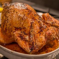 """Simple Whole Roasted Chicken I """"This was AWESOME. So quick and easy to make."""""""