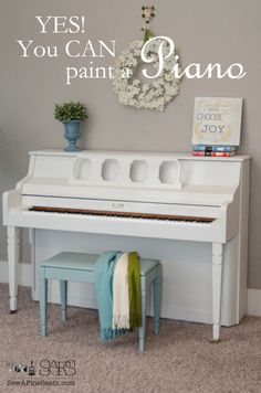 Yes, You CAN Paint a Piano! -