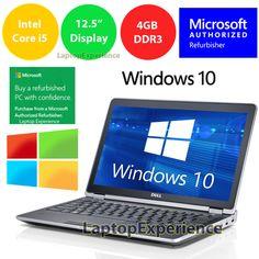 DELL LATiTUDE E6220 LAPTOP WINDOWS 10 WIN CORE i5 2.5GHz 320GB HD 4GB HDMI PC