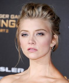 Learn how to create Natalie Dormer's gorgeous makeup look from the Hunger Games: Mockingjay - Part 2 premiere.