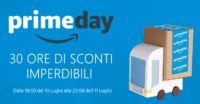 PrimeDay Amazon: dalle 18:00 iniziano le offerte speciali di questo evento che durerà 30 ore No-Stop! Seguitelo con Telegram