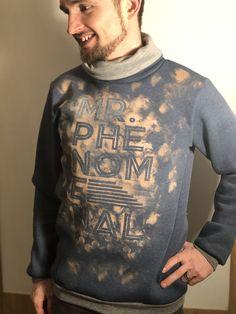 Mr. Phenomenal - Plotten mit Bleiche - Sewera Fashion Mens Tops, T Shirt, Fashion, Fashion Styles, Old Clothes, Sewing Patterns, Repurpose, Supreme T Shirt, Moda