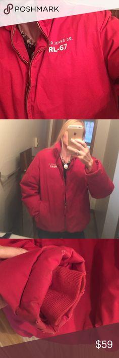 76adb2b8857ec8 Ralph Lauren Down Jacket Slight Wear see pics WARM If you want to be warm  this