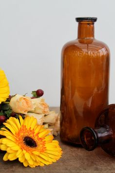 Vintage medical bottles / Free shipping in the by Brimfieldfinds, $26.00