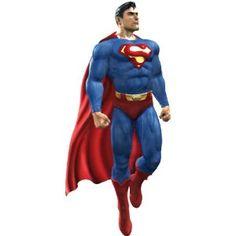 Sticker Autocollant Enfant Superman 45x100cm: Amazon.fr: Cuisine & Maison