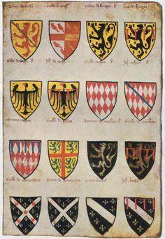 Armorial Wijnbergen, Dutch, Late 1200's