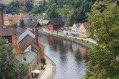 View from the castle, Cesky-Krumlov, The Czech Republic  ©Steve Gillick