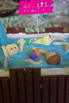 Within the Kitchen: Swimming Pool Party and Pool Cake