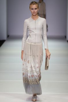 Défilé Giorgio Armani printemps-été 2015 #mode #fashion