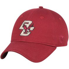 newest eca40 38ddf Men s Top of the World Maroon Boston College Eagles Strike Unstructured Adjustable  Hat