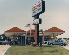 Sonic building post retrofit in the mid 1980's