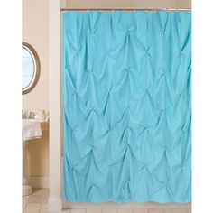 Shop for Park B. Smith Pouf Watershed Shower Curtain . Free Shipping on orders over $45 at Overstock.com - Your Online Bath
