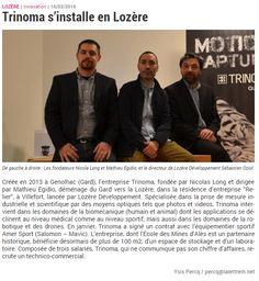 Un nouvel article à propos de l'installation de Trinoma en #Lozère dans la lettre M