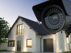 For centuries, the security system utilized in businesses, prisons, and automobiles to make everything secured. Technology has developed a home security sy Smart Home Alarm System, Best Home Security System, Security Cameras For Home, Door Security Devices, Security Door, Home Security Monitoring, Camera Supplies, Cctv Camera Installation, Home Security Companies