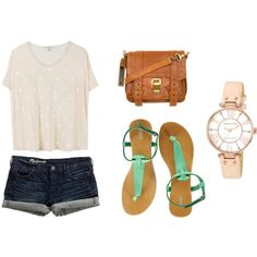summer perfect. Minus the watch