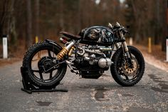 BMW R100 Black Stallion #28 by National Custom Tech NCT Motorcycles