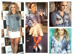 Inspire-se nos Looks de Claudinha    por Amanda Morbeck | ei, customizei!       - http://modatrade.com.br/inspire-se-nos-looks-de-claudinha