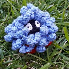 Tangela is virtually no-sew. His vines are all added by slip stitching directly onto the body! All he requires is some shoes :D
