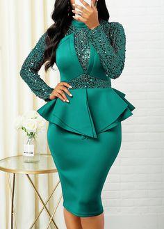Cheap women trendy dresses Dresses online for sale Elegant Dresses, Sexy Dresses, Beautiful Dresses, Evening Dresses, Trendy Dresses, Casual Dresses, Blue Dresses, Latest African Fashion Dresses, Women's Fashion Dresses