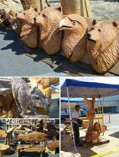 Chainsaw Carving: Art at the Cutting Edge