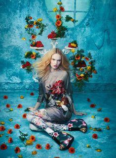 Glamour Italia April 2015 | Luisa Bianchin by Sandrine Dulermo + Michael Labica [Editorial]
