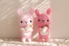 Amigurumi baby bunny rabbits. (Inspiration).