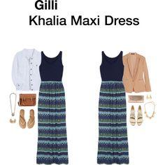 StitchFix - Khalia Maxi Dress