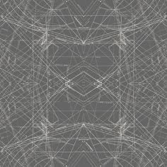 Indelible - Spirodraft Carbon  Linien und Buchstaben in weiß auf grauem  Hintergrund. Sehr technisch und modern.   Patchworkstoff von Art Gallery  - sehr hochwertiger Patchworkstoff aus 100%...