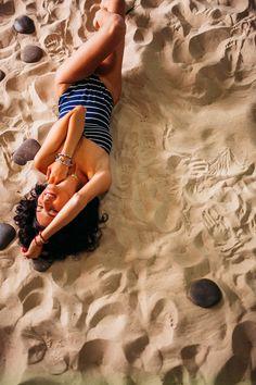 Личное: Фотосессия для видео о позировании на пляже