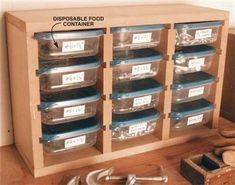 Small Parts Organizer - Popular Woodworking Magazine