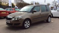 Used 2012 (12 reg) Brown Skoda Roomster 1.6 TDI CR SE 5dr for sale on RAC Cars
