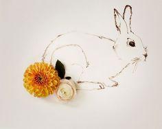 rabbit no. 0053. $30.00, via Etsy.