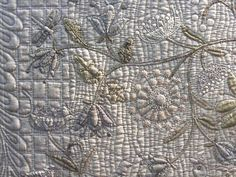 "Detail of ""Spring of Sweden"" quilt, Yoko Saito"
