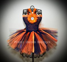 Denver Broncos Inspired Tutu Dress by PurpleOrchidBoutique on Etsy, $30.00