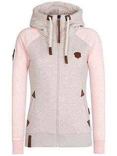 Naketano Women's Zipped Jacket Mach Klar Jetzt: Amazon.de: Bekleidung