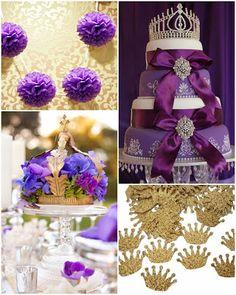 Purple Princess | A Royal Sweet Fifteen Theme #quinceanera