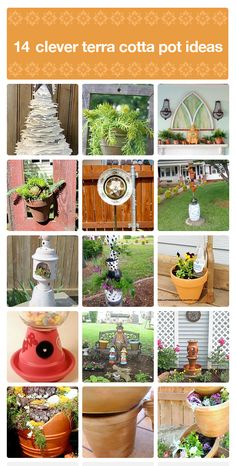 14 creative terra cotta pot ideas