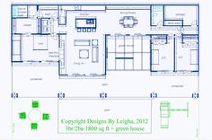 this is similar to our next home floorplan idea simple underground home with green houses eco village - Simple Underground House Plans