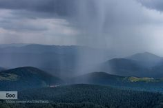 Rain in the mountains by petrus71 #landscape #travel