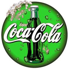 green coca-cola i would drink this Vintage Coca Cola, Coca Cola Ad, Always Coca Cola, World Of Coca Cola, Pepsi Ad, Green Coke, Logo Coca, Pop Drink, Sodas