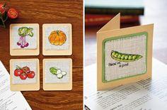 veggies cross stitch charts image