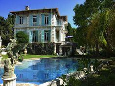 villa, French Rivieria