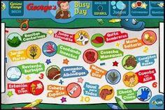 Con Jorge el curioso podrás jugar a 16 juegos matemáticos interactivos: sumas, restas, orden numérico, cardinales, ordinales,... y con la posibilidad de poner la página en inglés y realizar las actividades en este idioma