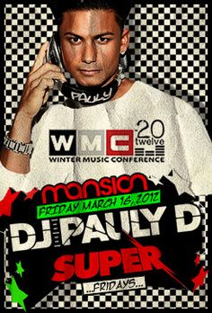 Pauly D to spin at Spring Break 2012 in FL